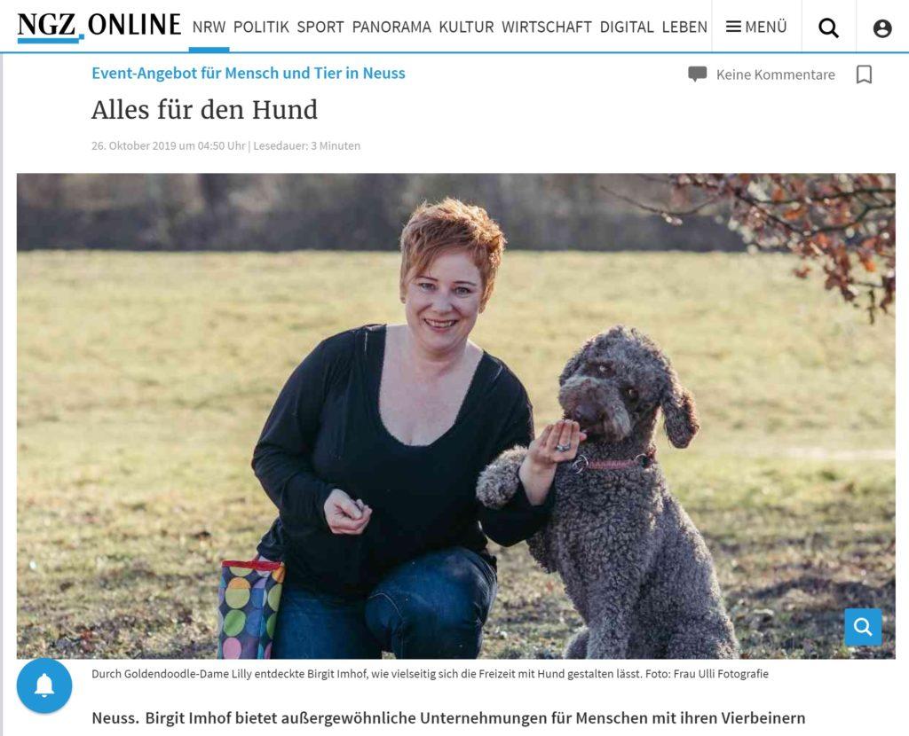 Lokale Presse über Schnauzentrip