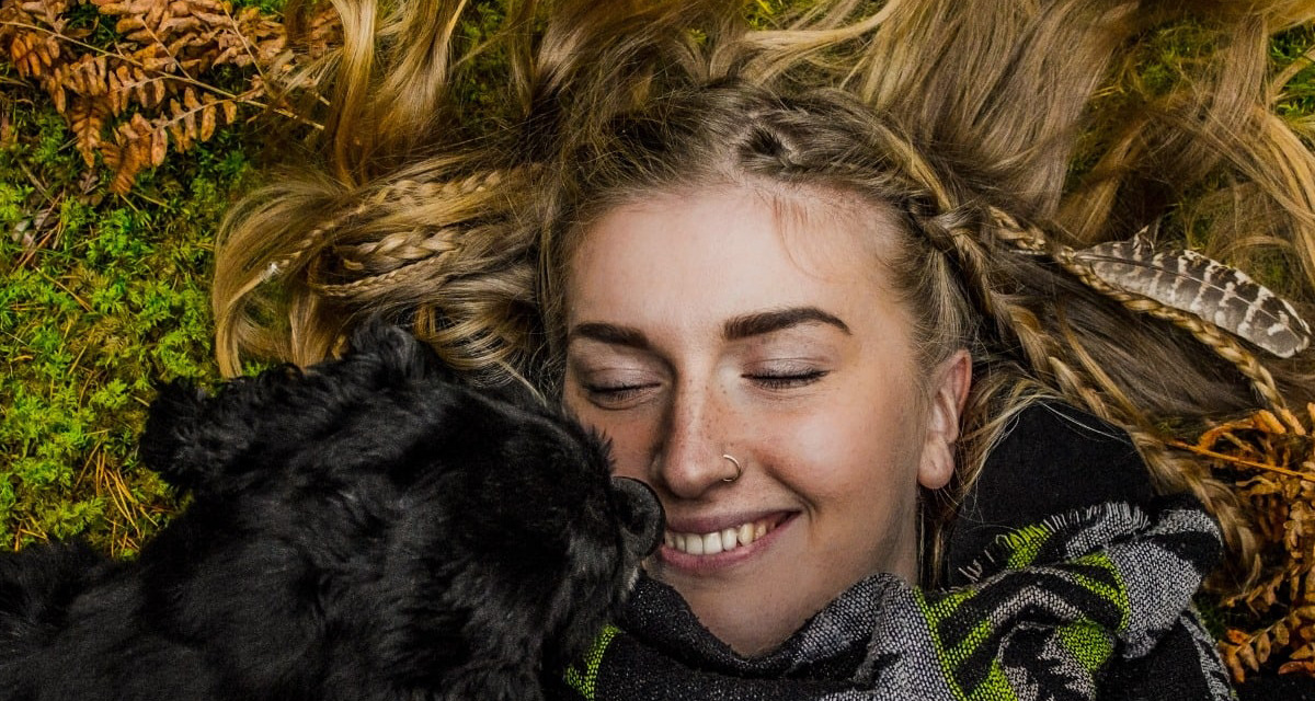 Achtsamkeit mit Hund